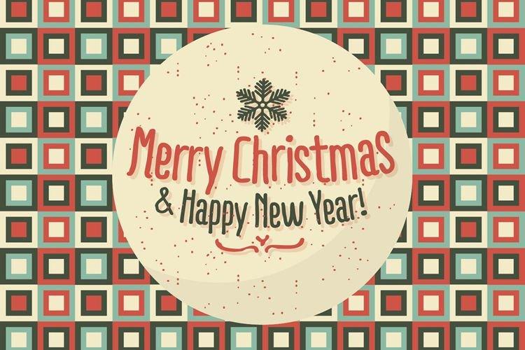 fontes e vetores para feliz natal